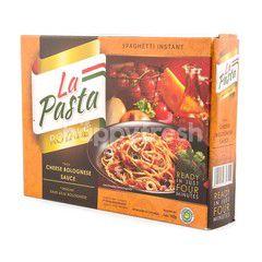 La Pasta Spaghetti Instant Royale Cheese Bolognese Sauce