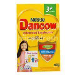 Dancow Excel+ Susu Bubuk Rasa Cokelat 3+