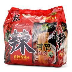 Myojo La Ramen Spicy Mushroom Instant Noodles