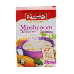 Campbell's Mushroom Chicken With Croutons Instant Soup