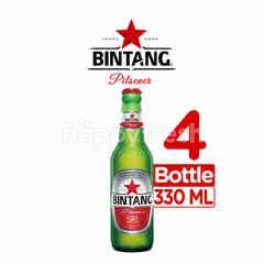 Bintang Pilsener Bottled Beer 4 Pack