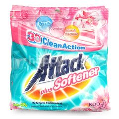 Attack 3D Clean Action Detergent Plus Softener