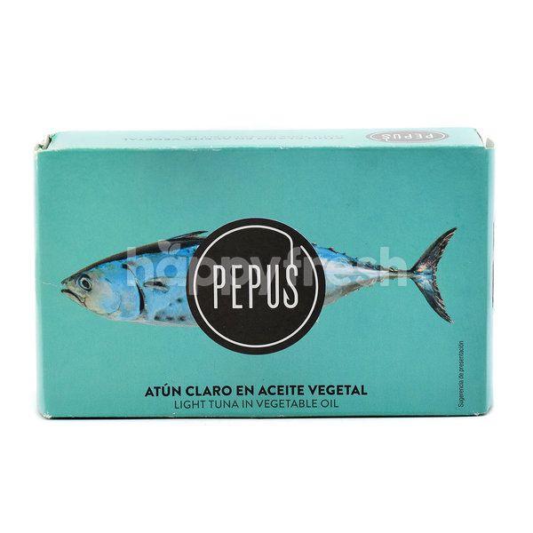 Pepus Light Tuna In Vegetable Oil