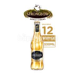 Strongbow Apple Ciders Gold Apple 12 Botol
