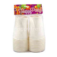 Happy Party Gelas Kertas Polo 9 Oz