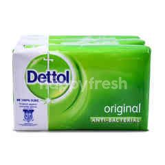Dettol Original Anti-Bacterial Soap (3 Bars)