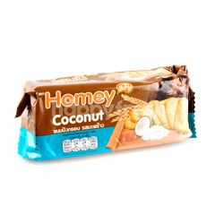 Homey Coconut Crackers