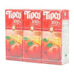 ทิปโก้ น้ำแอปเปิ้ลผสมน้ำองุ่น 100% 200 มล. (แพ็ค)