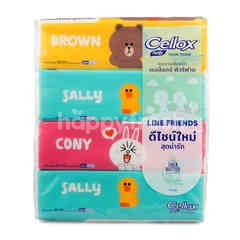 Cellox Purify Shea Butter Facial Tissue 4 Packs