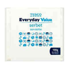 Tesco Everyday Value Serviette