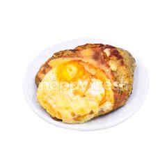 Egg & Turkey Ham Focaccia