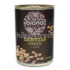 Biona Organic Lentils Green