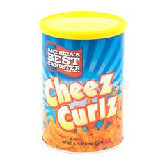 America's Best Canister Snacks Cheez Curlz