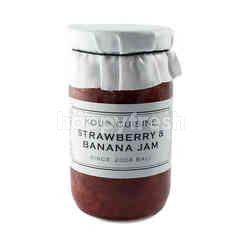 Kou Cuisine Strawberry and Banana Jam
