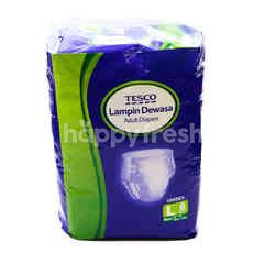 Tesco Adult Diapers (L) Unisex