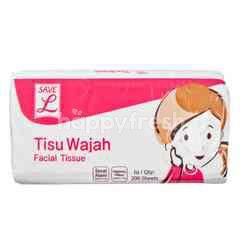 Choice L Save Natural Fiber Facial Tissue (200 sheets)