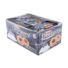 Dewberry Sandwich Cookies Blueberry Jam