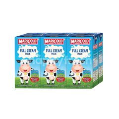 Marigold Uht Full Cream Milk (6 Packet)