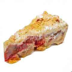 Bei Otto Rhubarb Cherry Cake