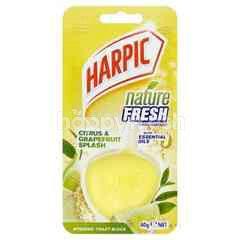 Harpic Citrus & Grapefruit Spalsh Hygienic Toilet Block