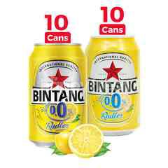 Bintang Radler Lemon 0.0% Alcohol Carbonated Drink Package