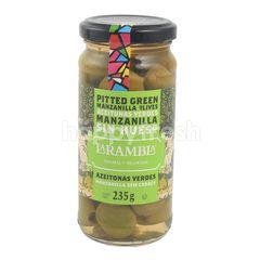 La Rambla Pitted Green Manzanilla Olives