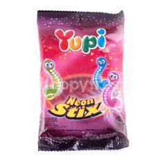 Yupi Candy Jelly with Worm Shapes
