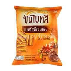 Sunbites Barbecue Flavour Multigrain Chips Snack