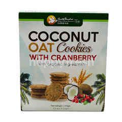 Health Paradise Coconut Oat With Cranberry Cookies
