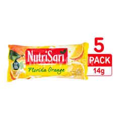 Nutrisari Florida Orange Flavored Instant Powdered Drink 5 Pack