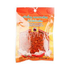 Khob Thong Bird Pepper & Garlic Parched In Vegetable Oil