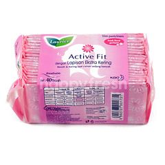 Laurier Active Fit Fresh Floral Perfume (40 pads)