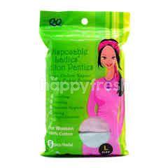 QQ Disposable Ladies Cotton Panties
