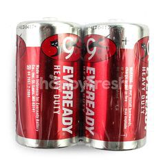 Eveready Heavy Duty Red