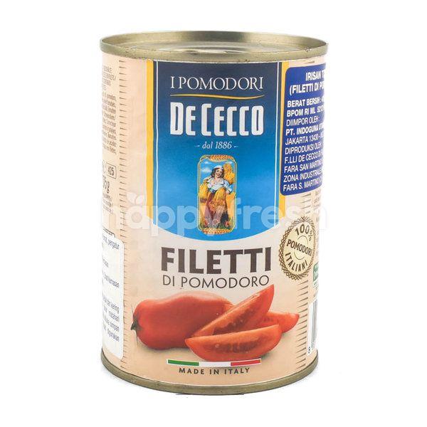 De Cecco Filleti di Pomodoro Sliced Peeled Tomato