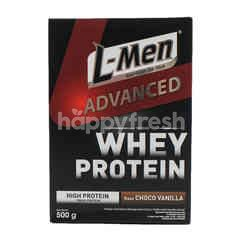 L-Men Advanced Formula Powdered Chocolate Vanilla Milk