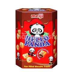 Meiji Hello Panda Chocolate Biscuits