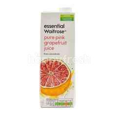 Essential Waitrose Pure Pink Grapefruit Juice