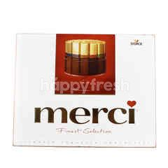 MERCI Red Finest Collection Assorted European Chocolates