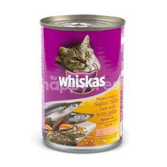Whiskas Seafood Platter Flavour For Adult
