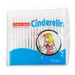Cinderella Cotton Buds (60 pieces)