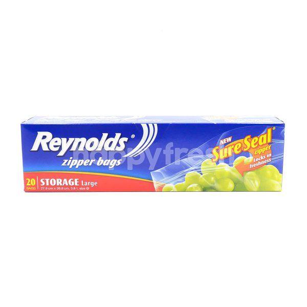 Reynolds Ziper Bags Storage - Large