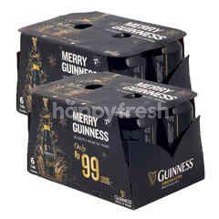 Guinness Bir Hitam Extra Stout 12 Pcs x 320ml Twinpack