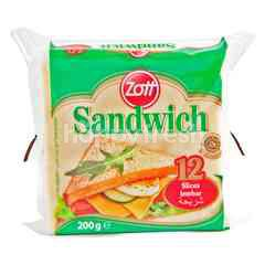 Zott Sandwich Cheese (12 Slices)