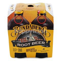 Bundaberg Non Alcoholic Root Beer (4 Bottles)