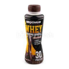 แม็กซิมัส เครื่องดื่มเวย์โปรตีน นม รสช็อกโกแลต