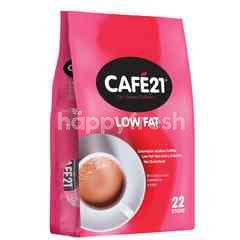 Cafe21 2 In 1 Instant Coffeemix Low Fat (22 Sticks)