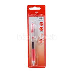 FABER CASTELL 0.7mm Red Gel Pen