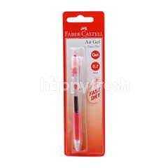 FABER CASTELL 0.7mm Red Gel Pen