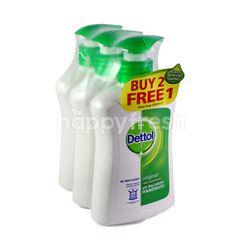 Dettol Buy 2 Free 1 Original Anti Bacterial pH Balanced Handwash